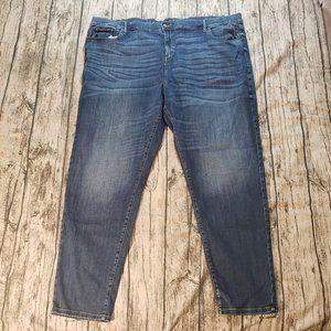 Ava & Viv Women's Medium Wash Straight Jeans